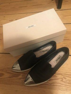 Miu Miu Slip-on Shoes multicolored