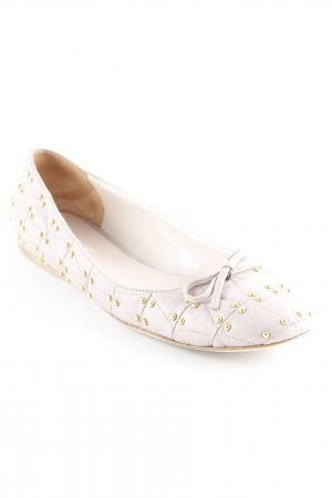 Miu Miu Zapatos formales sin cordones malva-color oro elegante