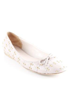 Miu Miu Slippers mauve-gold-colored elegant