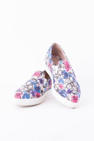MIU MIU - Slipper mit floralem Print Bunt