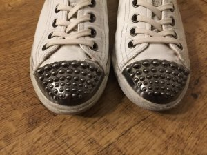 MIU MIU Sneaker in Größe 37 1/2  Lack - Leder weiß