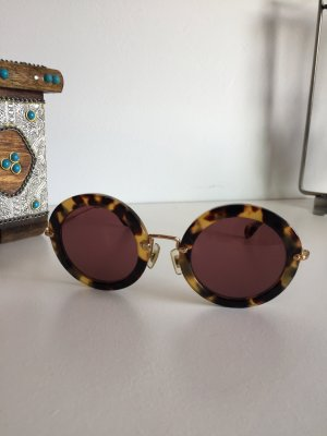 Miu Miu Glasses multicolored synthetic material