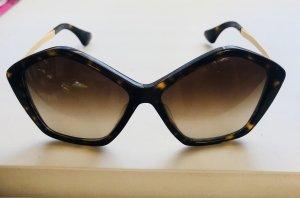 Miu Miu Hoekige zonnebril veelkleurig