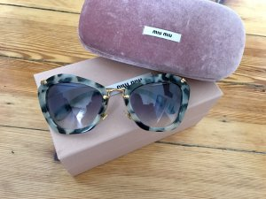 Miu Miu Sonnenbrille cat eye tiger.