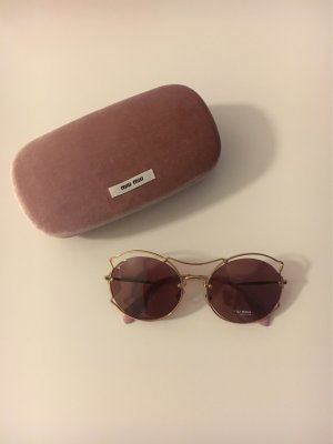 Miu Miu Oval Sunglasses multicolored