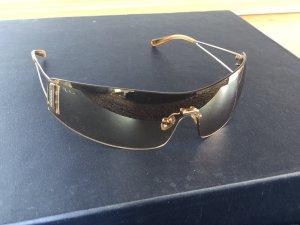 Miu Miu Hoekige zonnebril veelkleurig Metaal
