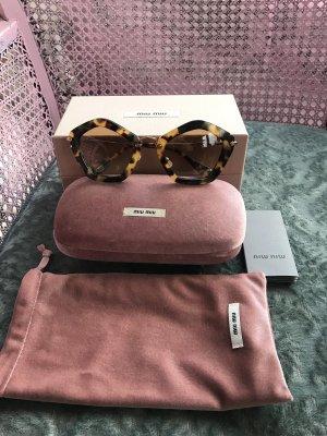 Miu Miu Sonnenbrille - Havana Cat Eye -