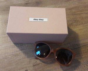 Miu Miu Sonnenbrille Nude Beige Matt Cateye