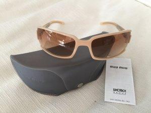 Miu Miu Sonnenbrille, original, zartes Rosa, fast durchsichtig