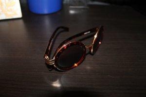 miu miu Sonnenbrille Rund Braun wie neu
