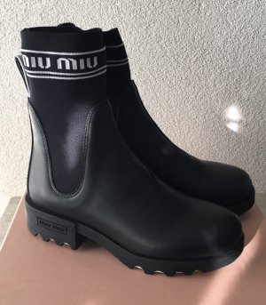 Miu Miu Low boot noir