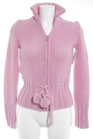 Miu Miu Strick Cardigan pink Casual-Look