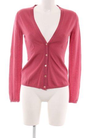 Miu Miu Strickjacke pink schlichter Stil