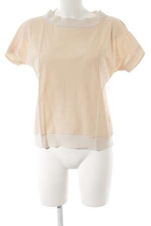 Miu Miu T-Shirt apricot-creme Street-Fashion-Look