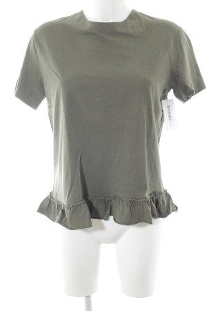Miu Miu T-Shirt khaki Casual-Look