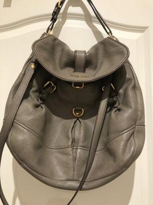Miu Miu Shoulder Bag dark grey leather