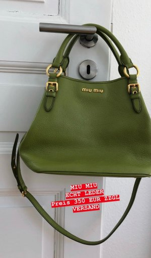 Miu Miu Pouch Bag multicolored leather