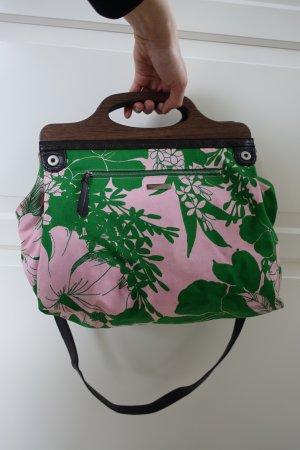 MIU MIU Tasche, Beuteltasche, frischer Blumen Print