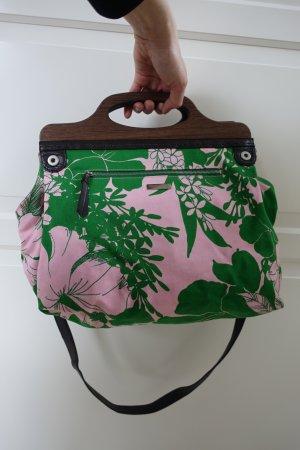 MIU MIU Tasche, Beuteltasche, mit super schönem Hawaii Blumen Print, Aloha!