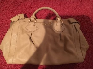 Miu Miu College Bag beige leather