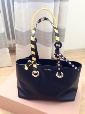 Miu Miu Tasche schwarz gelb, NEU !!!