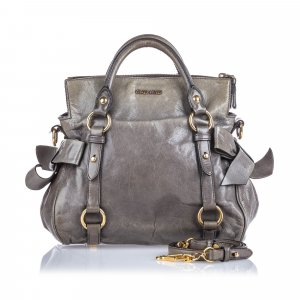 Miu Miu Vitello Bow Satchel