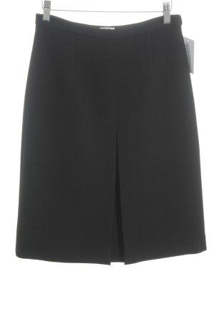 Miu Miu Falda de lana negro estilo «business»
