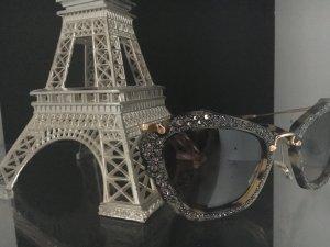 MiuMiu#sunglasses#cristalls#black