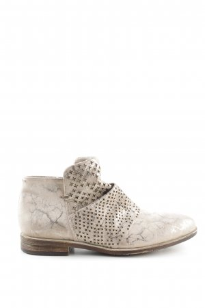 Mjus Ankle Boots wollweiß-silberfarben Casual-Look
