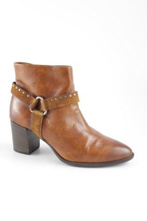 Mjus Ankle Boots cognac klassischer Stil