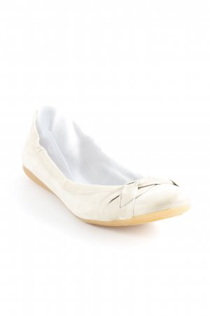 Mjus Foldable Ballet Flats oatmeal casual look