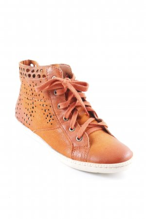 Mjus High Top Sneaker orange Casual-Look