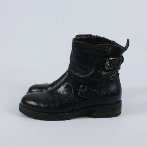Mjus Korte laarzen zwart