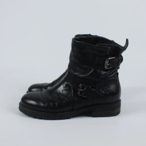 Mjus Short Boots black leather