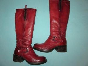 Mjus Jackboots dark red-carmine leather