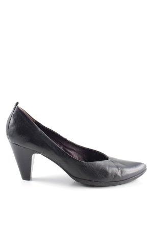 Mjus Loafers zwart zakelijke stijl