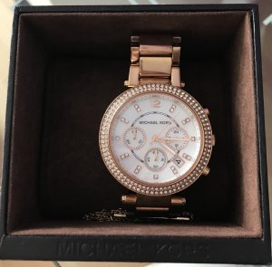 Mk 5491 Michael kors Gold Rose Glitzer