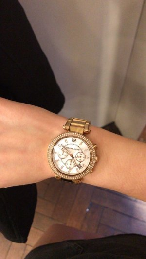 Michael Kors Watch With Metal Strap gold-colored-rose-gold-coloured