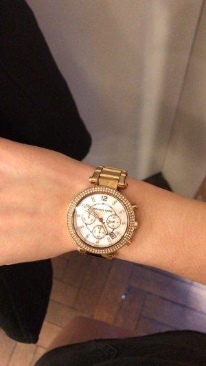 Michael Kors Montre avec bracelet métallique doré-or rose