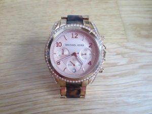 MK 5859, Michael Kors, Uhr Rosegold, Glitzersteine, gut erhalten