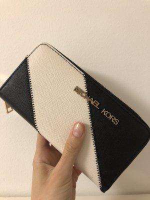 Michael Kors Wallet white-black