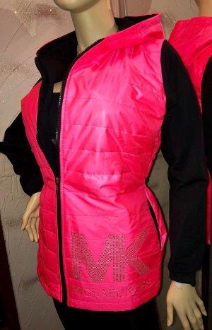 MK Jacke in gr M Pink Schwarz Neu Strass