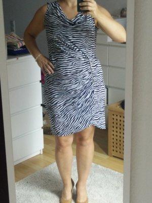 MK Kleid mit Wasserfall Ausschnitt