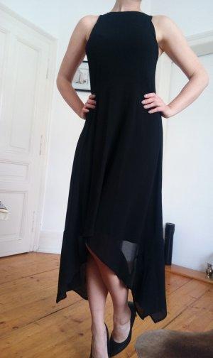 MK Michae Kors Kleid mit asymmetrischem Saum Schwarz Gr 6 (US) 38 M
