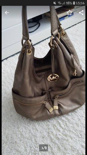 Mk Michael Kors Handtasche Tasche Gold