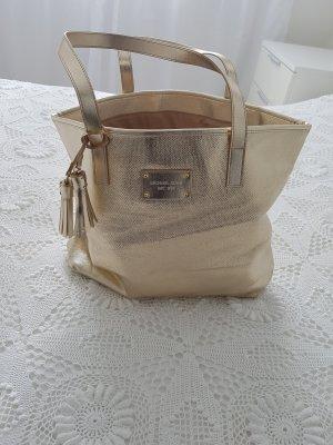 Mk Michael Kors Handtasche Tasche Strandtasche Gold NEU
