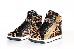 Michael Kors High Top Sneaker multicolored leather
