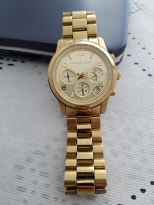 MK Michael Kors Uhr Armbanduhr Gold
