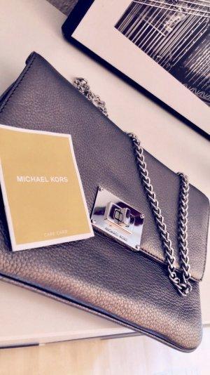Michael Kors Handbag silver-colored