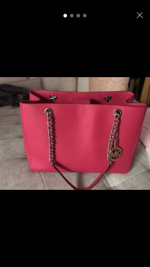 Michael Kors Bolso barrel rosa